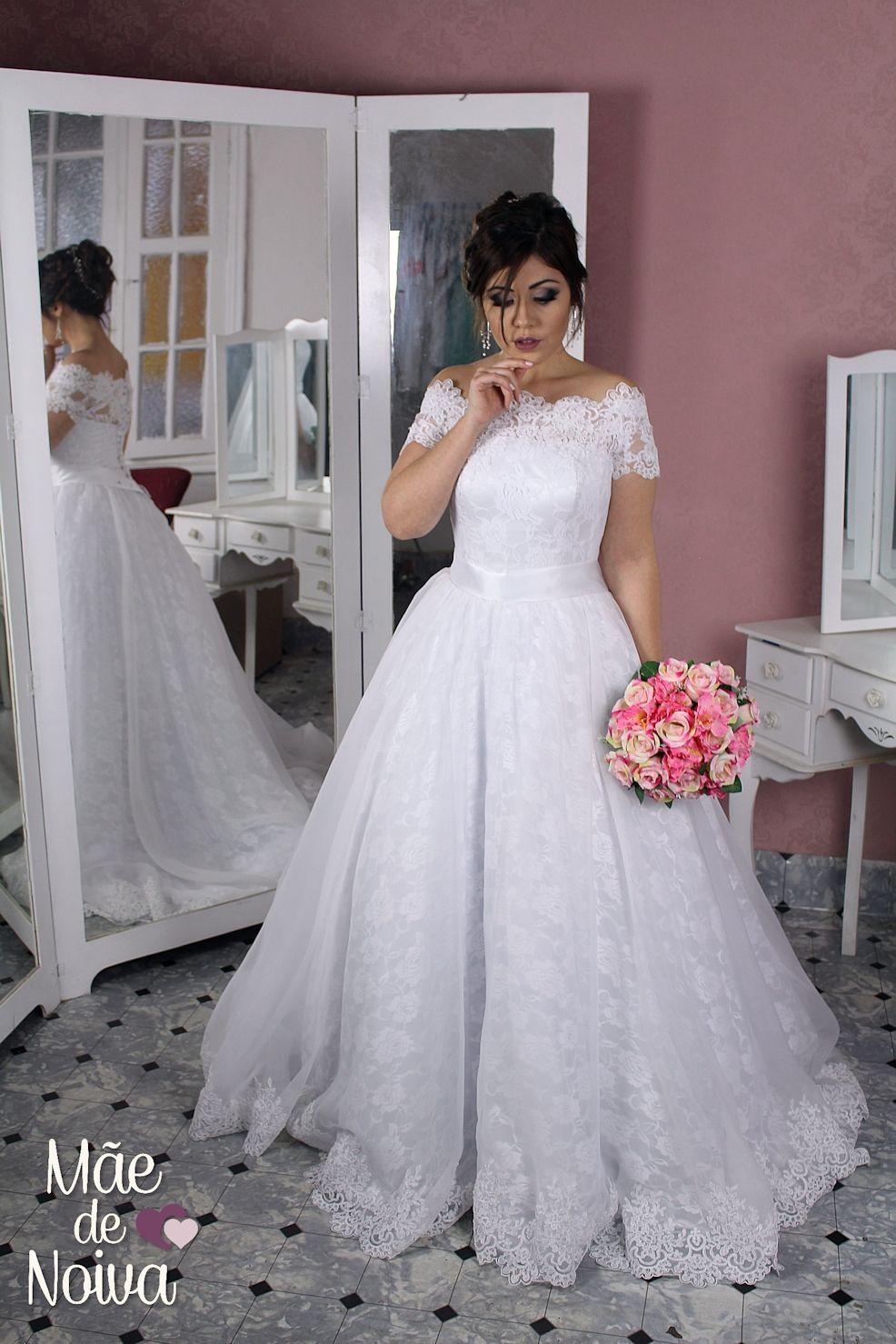 Vestido de noiva princesa 8e53f5f8b380