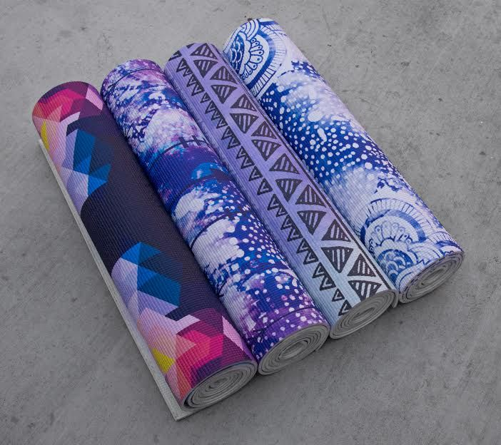 Latest Printed Yoga Mats From Vagabond-goods