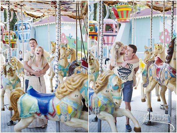 Jasper Ezalle Engagement Shoot Gold Reef City Theme Park South African Wedding