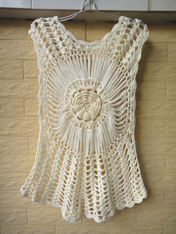 crochet beach cover up | Lavori a uncinetto | Pinterest | Salidas de ...