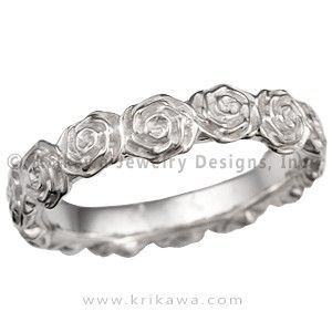 Beauty and the Beast Wedding Band Wedding rings Pinterest
