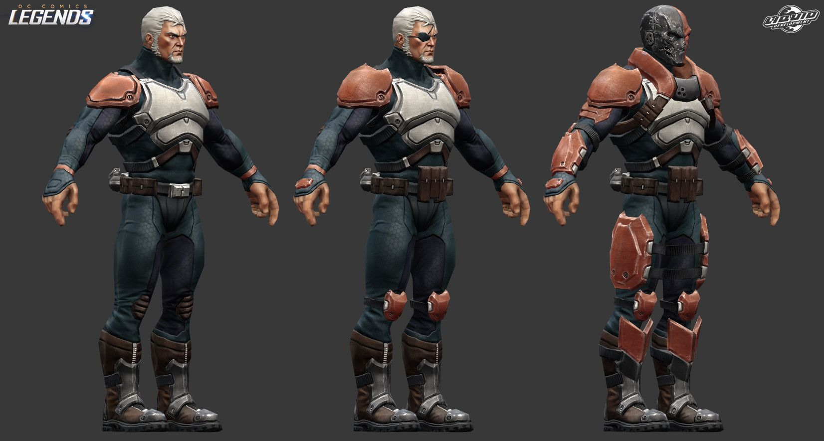 ArtStation DC Legends (Mobile game) Characters