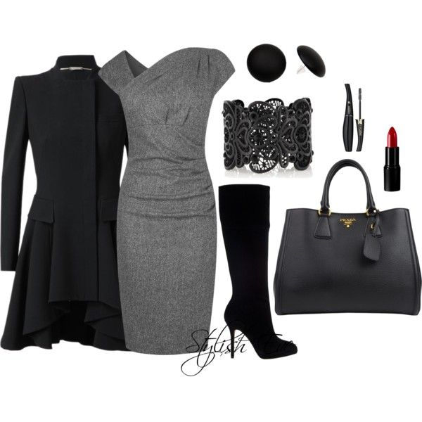 """""""Winter Work Outfit !"""" by stylisheve on Polyvore"""