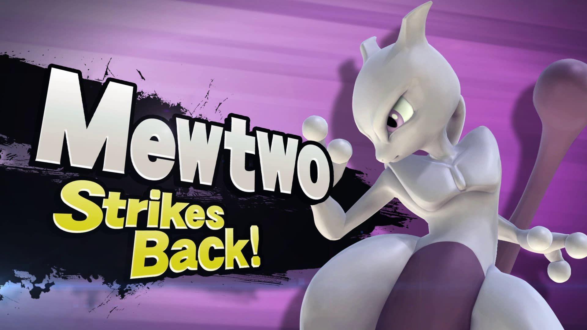Pokemon Movie Mewtwo Strikes Back Evolution Mewtwo Strikes Back Super Smash Bros Smash Bros Wii