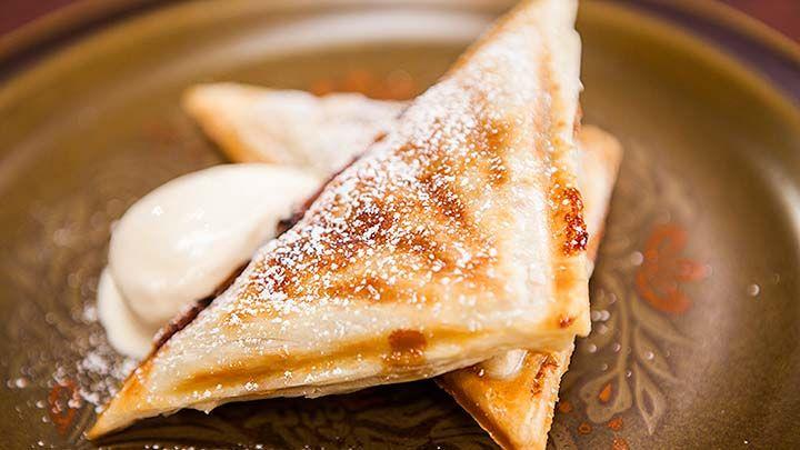 Hot Apple Pie Jaffle