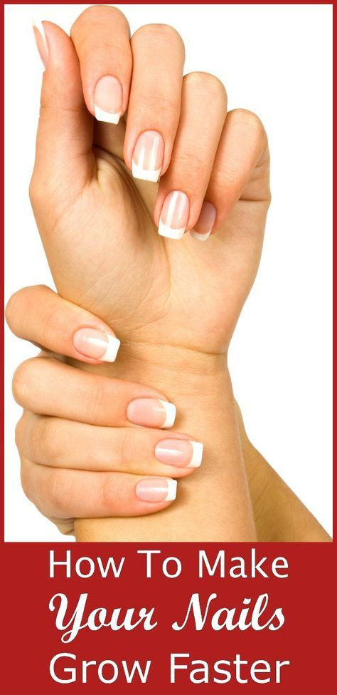How To Make Your Nails Grow Faster And Stronger #NailsGrow