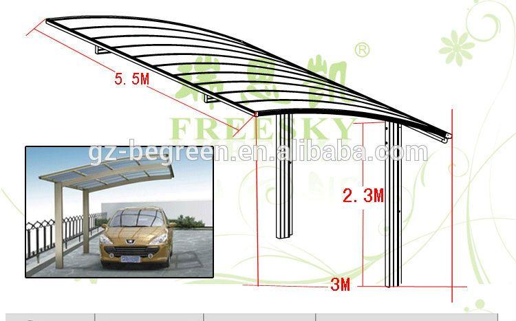Resultado de imagen de marquesinas para coches for Cobertizos segunda mano