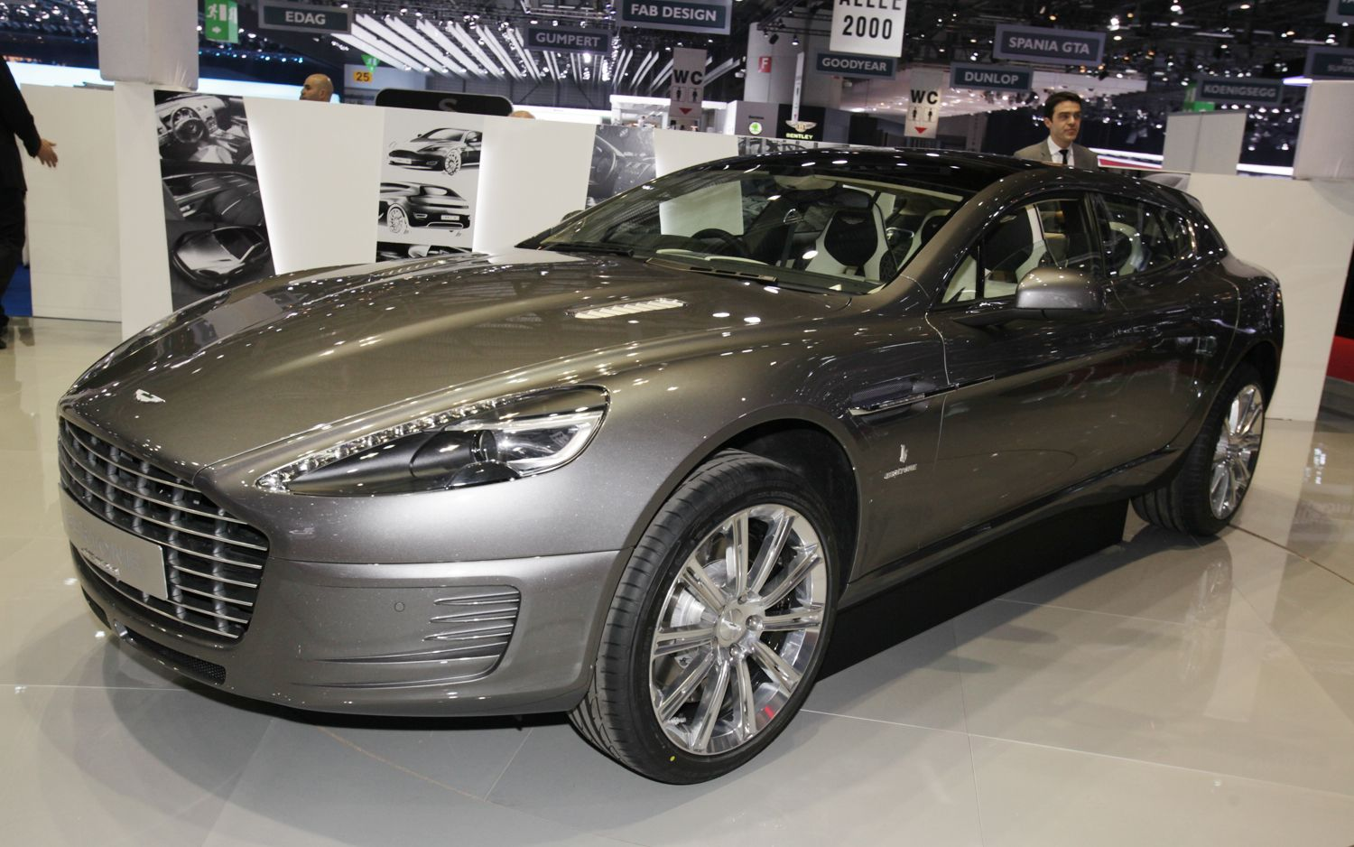 Up Close With The Aston Martin Rapide Based Bertone Jet 2 2 W Poll
