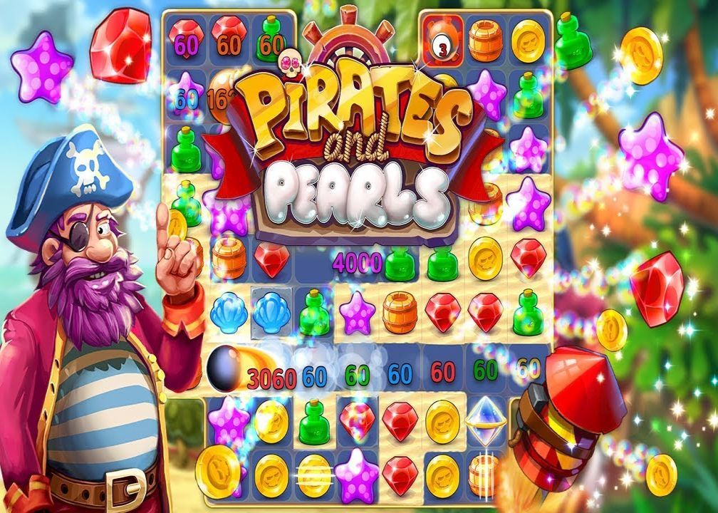 Pirates Pearls A Match 3 Pirate Puzzle Game Money Mod