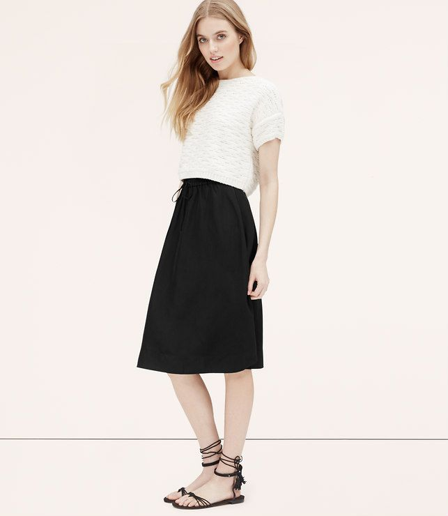 5cfe307e69 Swingy Midi Skirt - So versatile, you'll wear it at least once a week.