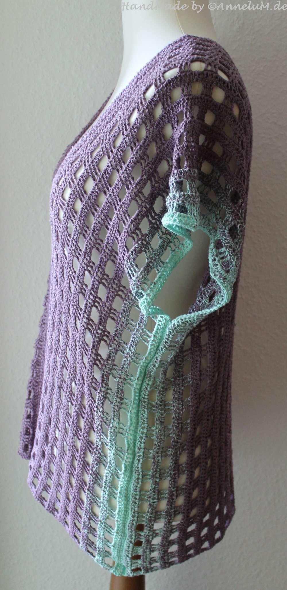 Aus zwei Schals wird eine Tunika   AnneluM   Schöne Dinge ...