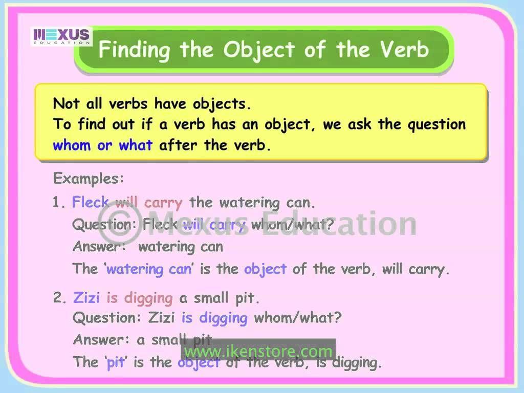 Transitive And Intransitive Verbs Intransitive Verb All Verbs Verb [ 768 x 1024 Pixel ]