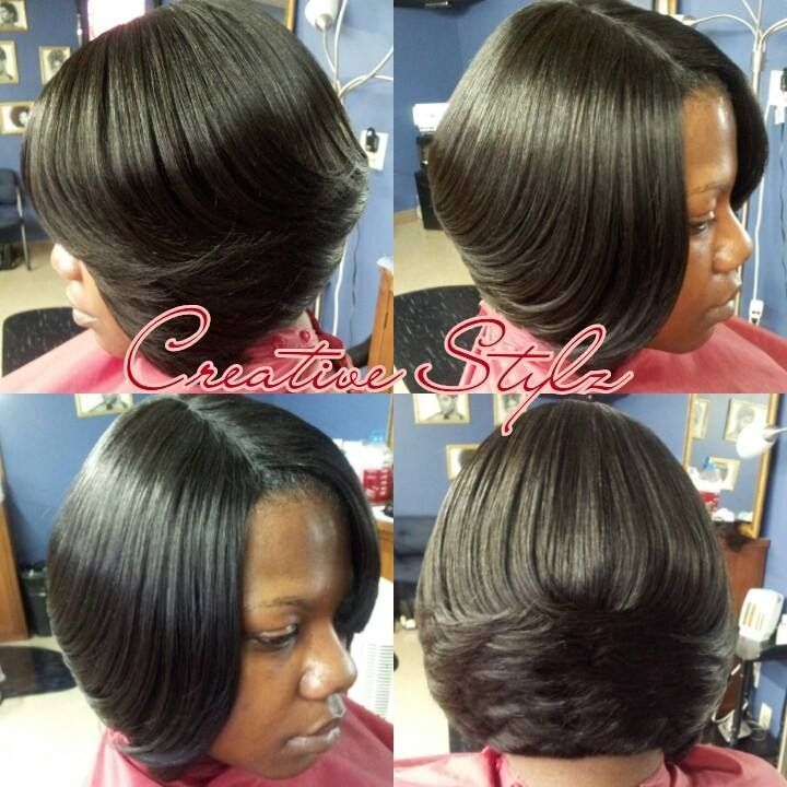 Fabulous 1000 Images About Hair Styles On Pinterest Weave Bob Hairstyles Hairstyles For Women Draintrainus