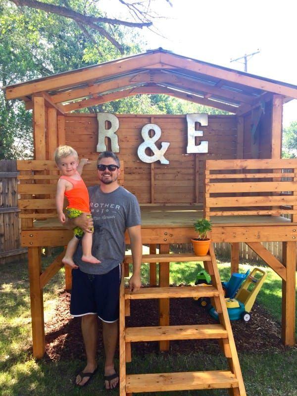 Best 25 Wooden Fort Ideas On Pinterest Rustic Backyard