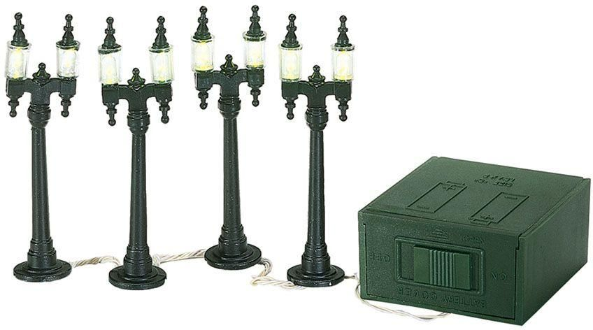 double street lamps set of 4