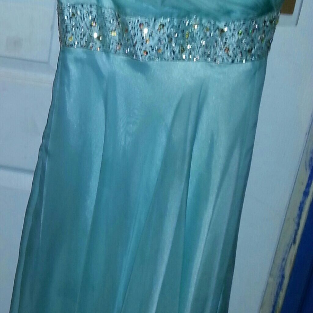 Mint bling green prom dress products