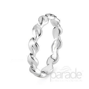 Parade Designs Original Lyria Leaves Wedding Band Is Featured In The 2012 Release Of Vow