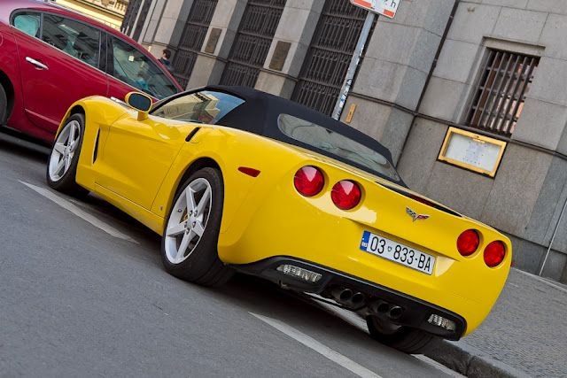 Chevrolet Corvette Praha Czech Republic Cars Machines