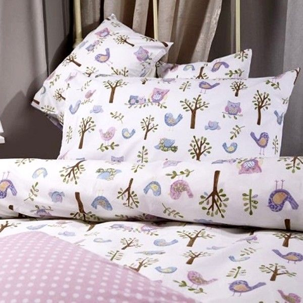 bedding kids owls boys owl sets products cover cotton linen duvet sheet twin full s queen collections pillowcases girls set bed