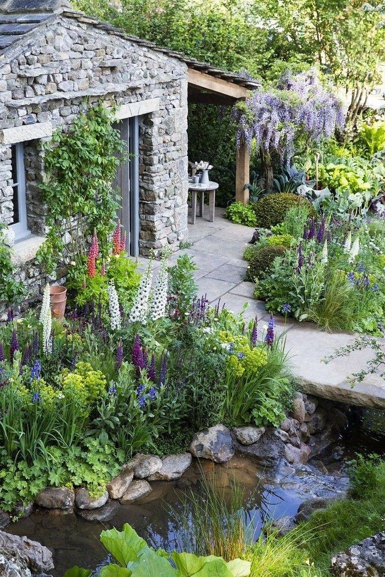 35 Lovely Cottage Garden Design Ideas For Your Dream House Garden Gardendesign Gardendesignideas Cottage Garden Chelsea Garden English Cottage Garden