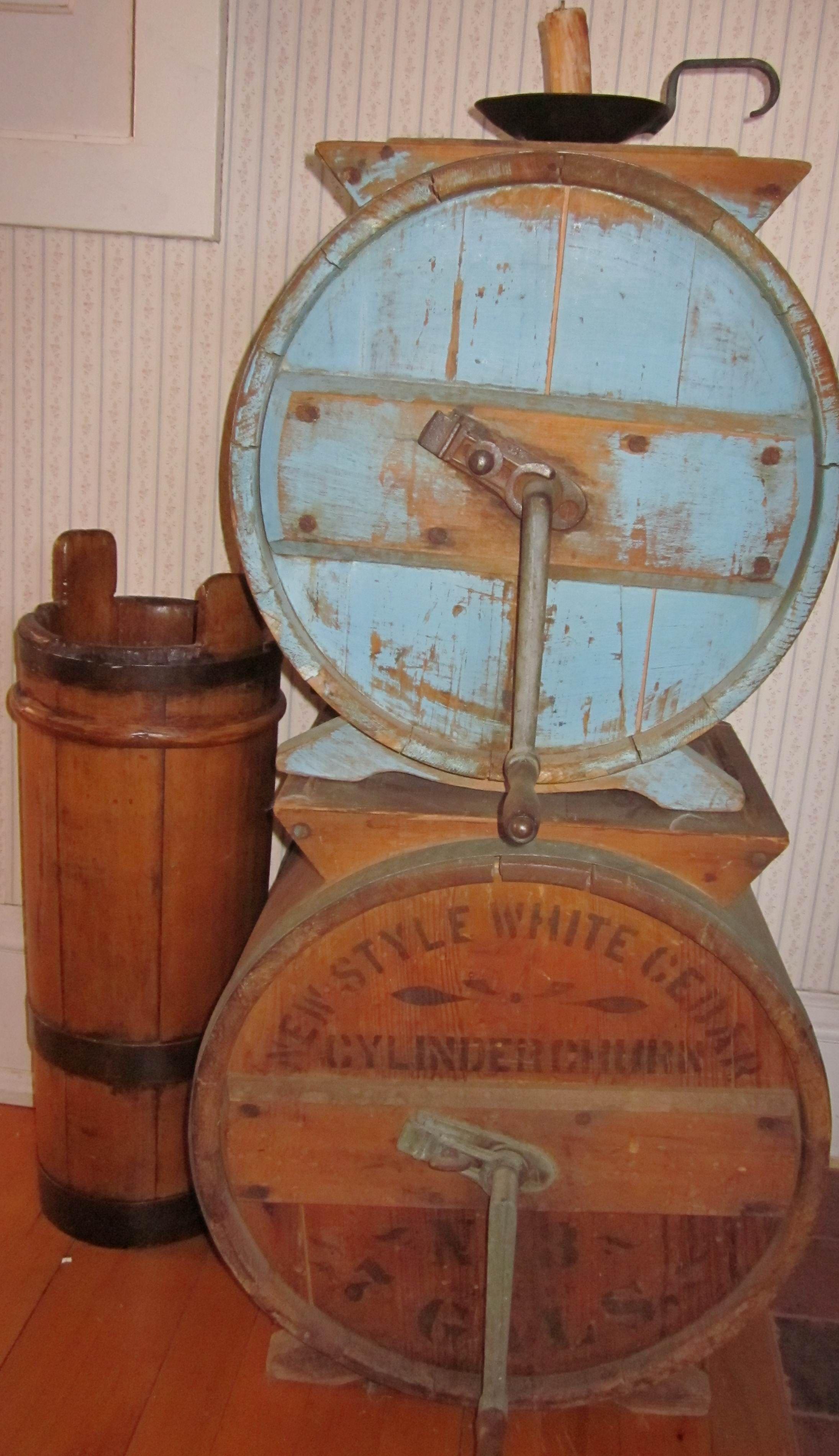 Antique Butter Churns Churning Butter Making Butter