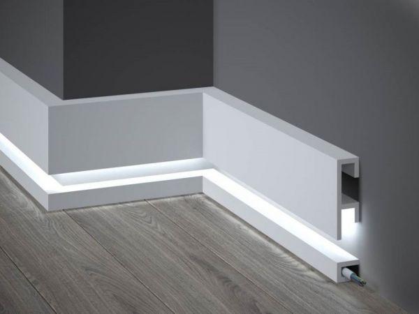 Wir Kombinieren Sockelleisten Mit Led Und Design Bestellen Sie Exklusive Led Licht Sockelleisten In 2020 Home Decor Decor Home
