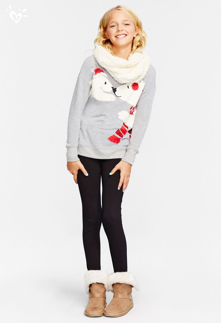 Adorable Graphics Super Stretchy Jeans And Cozy Boots