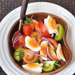 A classic filipino salad salted eggs tomatoes and onions best a classic filipino salad salted eggs tomatoes and onions best served with traditional pinoy foodfilipino recipesfilipino forumfinder Image collections