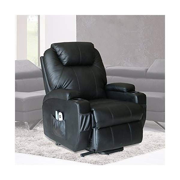 Enjoyable U Max Massage Chair Power Lift Recliner Wall Hugger Pu Forskolin Free Trial Chair Design Images Forskolin Free Trialorg