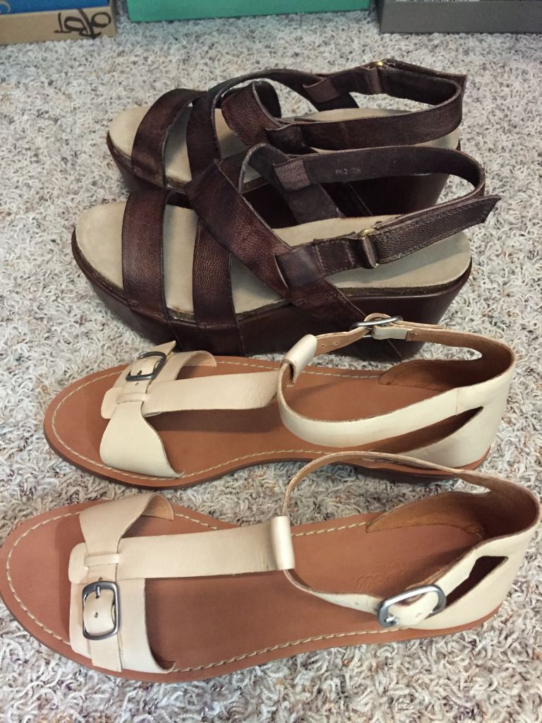 Wonderful choices for Spring and Summer ~ about to be here! Especially love the Chocolate leather Antelope shoes!