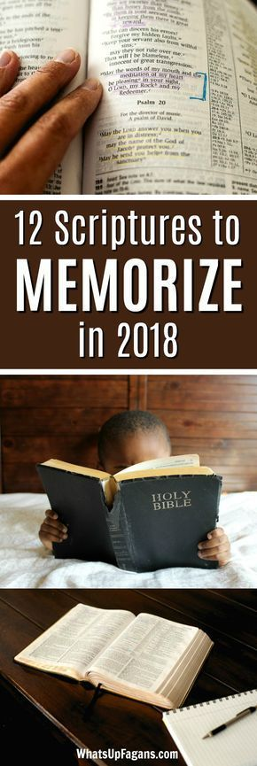 12 Scriptures About God Worth Memorizing in 2018 {Free Printables}