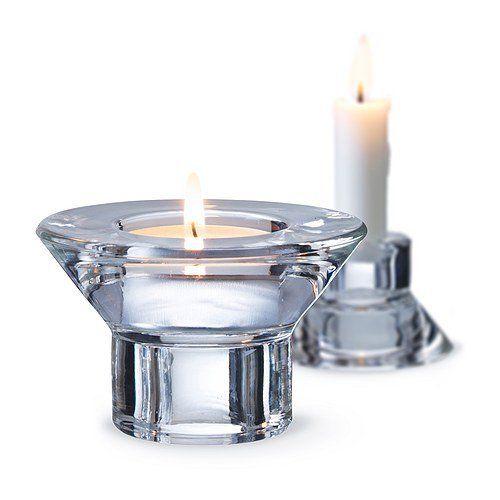 Ikea Kerzen Im Glas ikea 2 x kerzen und teelichthalter neglinge dient wahlweise als