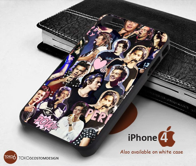 Harry Style Coolage for iPhone 4/4S, iPhone 5/5S, iPhone 6, iPod 4, iPod 5, Samsung Galaxy Note 3, Galaxy Note 4, Galaxy S3, Galaxy S4, Galaxy S5, Galaxy S6, Phone Case