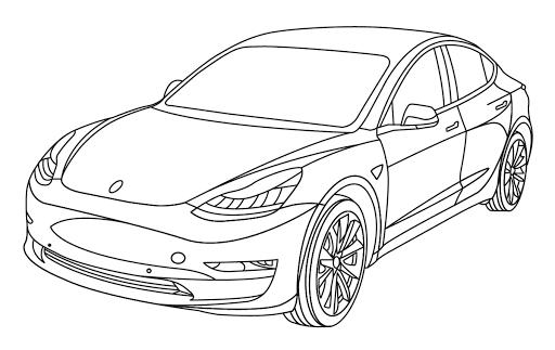 Gambar Mewarnai Mobil Lexus Funny Pictures Coloring Pictures Darth