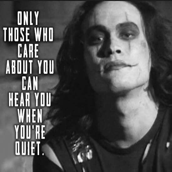 Pin By Gray On The Crow Joker Quotes Crow Crow Movie
