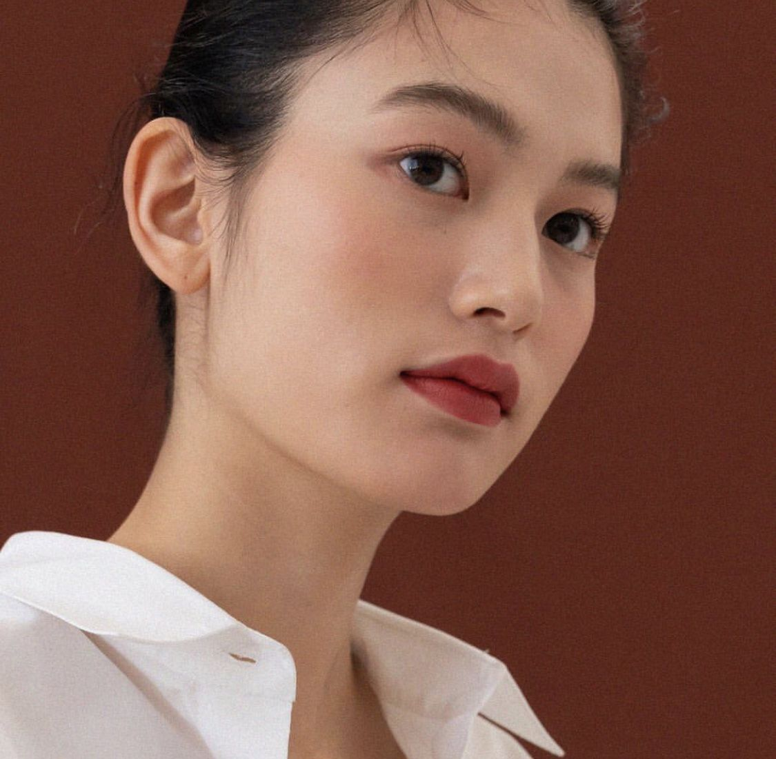 Photo of Pretty young Asian woman.