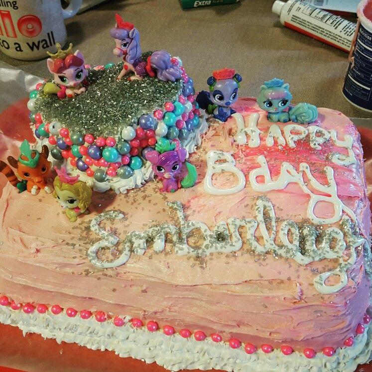 Palace pets princess birthday cake homemade