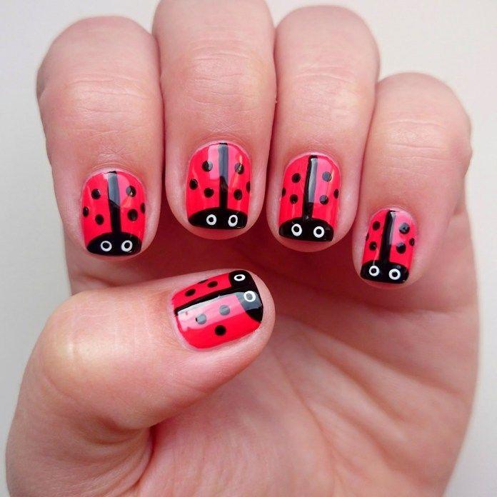 decoracion de uñas para niñas +50 [Para Hacerlos En Casa Facil ...