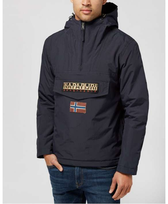 c98927181 Napapijri Rainforest Hooded Jacket | scotts Menswear | Winter-ready ...