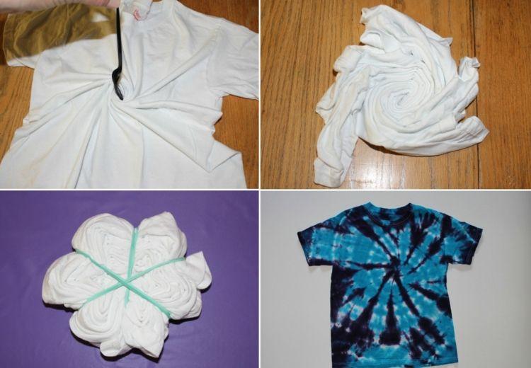 Eine Batik Spirale Gestalten Batik Technik Batik Batik Kleidung