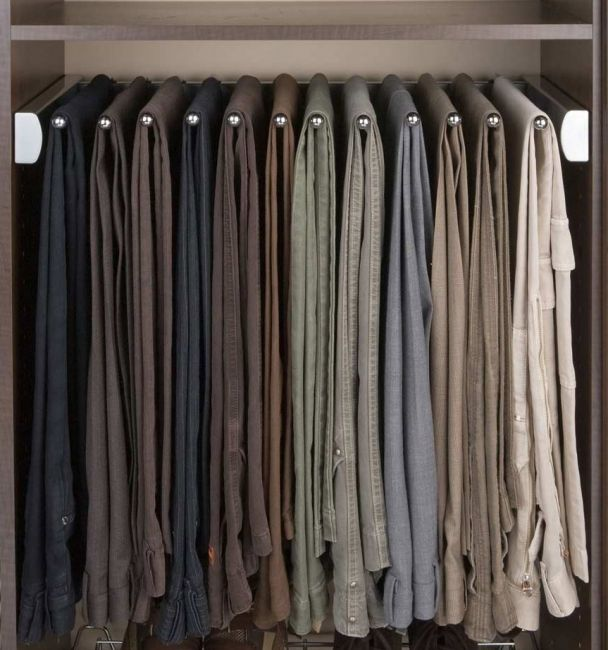 Pants Rack To Help Organize Your Closet + Many Other Accessories By  Sidelines