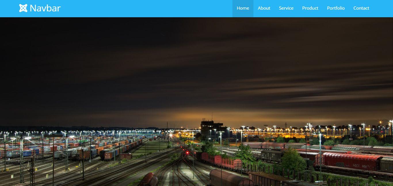 Navbar - Top Fixed Google Materialize Navigation | Canopy