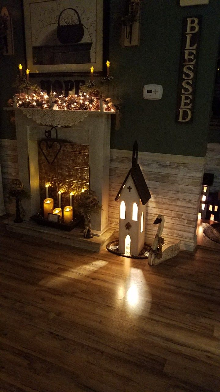 My primitive country church made by my husband and i builds nov