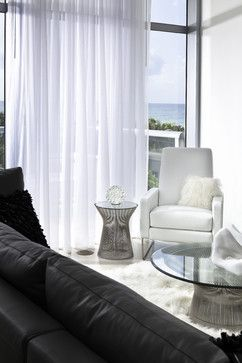 High End Residence turns Boutique Hotel Design - contemporary - living room - miami - Bigtime Design