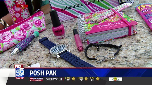 Subscription box for girls of all ages!   poshpak.com - spoilers in the video! :)
