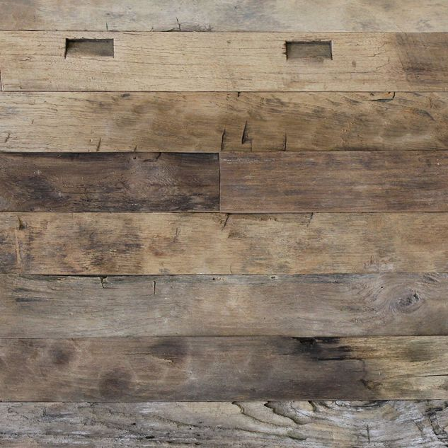 Reclaimed Weathered Teak Plank Paneling Wood Paneling