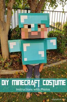DIY Minecraft Costume Instructions & DIY Minecraft Costume Instructions | Costumes Halloween ideas and ...