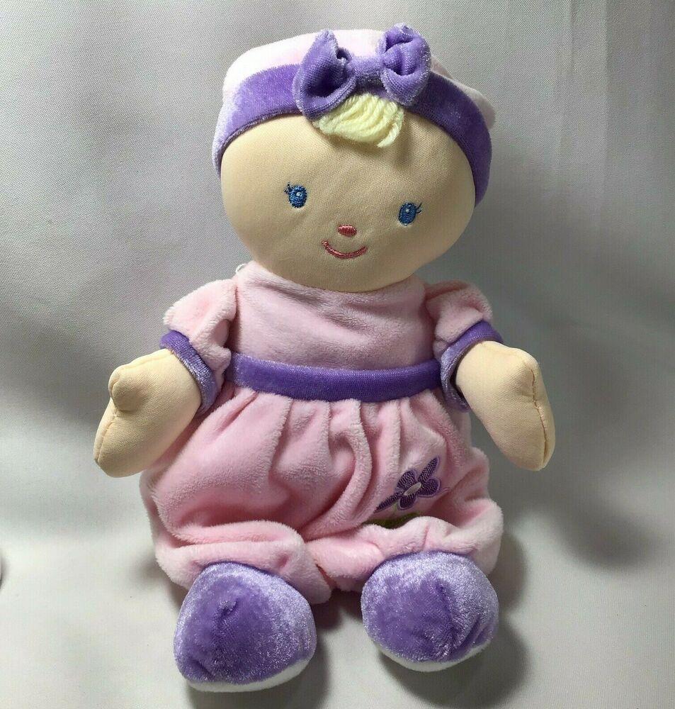 Predownload: My 1st Baby Doll Kids Preferred Pink Plush Sparkle Flower Hat Lovey Toy 2012 Kidspreferred Baby Dolls My First Baby Doll Pink Doll [ 1000 x 953 Pixel ]
