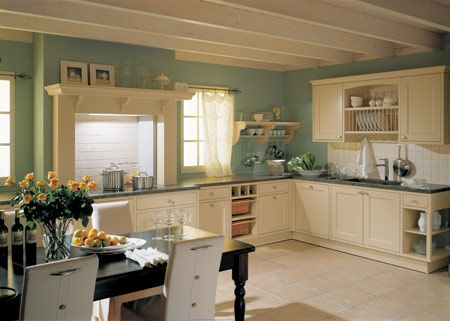 Landhauskueche | Kitchen I Would Love | Pinterest | Bedrooms