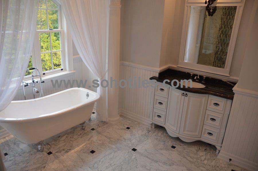 Statuarietto Marble Floor Design By Soho Tiles Residential Toronto